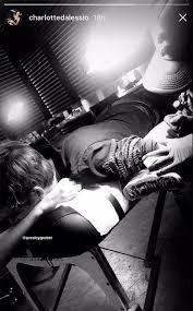 Presley Gerber Gets Tattoo Of Sister Kaia Gerbers Name E News