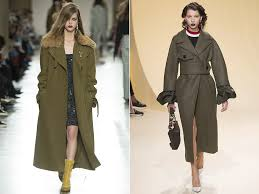 coat in style of a military for women s in fall winter 2016 17 trends