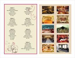 Catering Menu Templates Free Catering Menu Design Under Fontanacountryinn Com