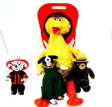sparky the fire dog. fire safety with smokey, sparky, and sesame street sparky the dog