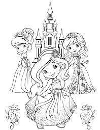 Small Picture Strawberry Shortcake Coloring Pages Strawberry Shortcake 7832