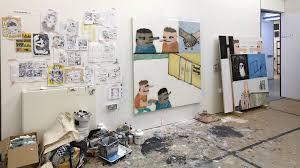 work in progress show 2017 school of fine art painting felix