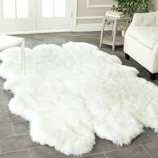 faux animal skin rugs exquisite faux sheepskin with wire chair and faux animal skin rugs fake