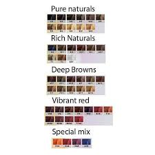 Colour Touch Colour Chart Wella Color Touch Hair Colour