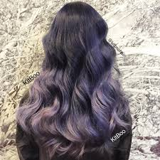 Smokey Lilac Hair Is The Hottest