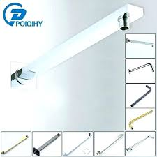 how to install shower arm rain shower head height chrome plated wall mounted brass shower arm how to install shower arm