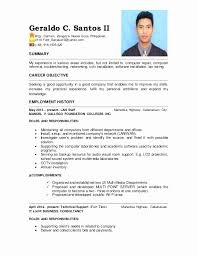 Tech Resume Examples Enchanting Computer Network Technician Resume Sample Elegant Puter Technician