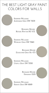 light gray paint colorsThe Best Light Gray Paint Colors for Walls  Jillian Lare