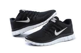 nike running shoes black and white. shoes nike running free run sneakers black and peach white s