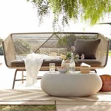 outdoor furniture west elm. west elm huron sofa grayseal outdoor furniture