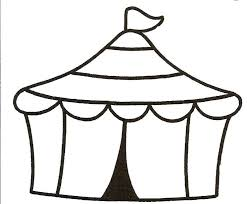 Circus Tent Clipart Black And White Free Download Best Circus Tent