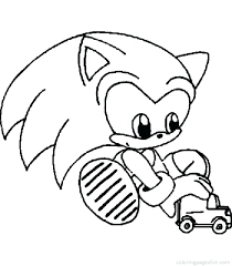 Sonic Color Pages To Print Sonic The Hedgehog Coloring Pages Free