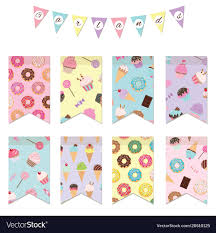 Designer Bunting Bunting Flags Set For Birthday Party Design