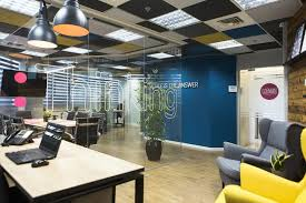 creative office ceiling. The Conference Room Has A Glass Walls Like Other Office Partitions, And On Every Wall Sticker With Individual Words Depending Activity That Creative Ceiling