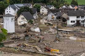 Germany Flooding Map, Update As Death ...