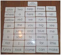 Dolch Pre Primer Sight Word Flash Cards Preschool And Prek Educational Phonics