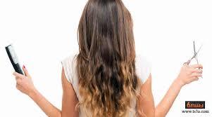 كيف تتعلمي قص الشعر في المنزل لنفسك أو للأخريات بسهولة تسعة