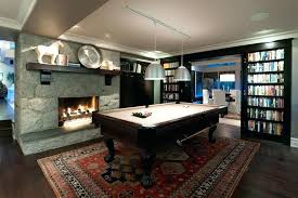 pool table rug billiards rug family room contemporary with gray wall stone fireplace dark wood pool pool table rug