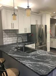 black leather granite countertops beautiful black forest granite by stone interiors black pearl leathered granite countertops