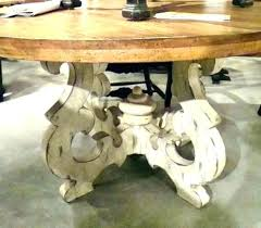 white oak round dining table distressed round dining table white oak black set pedestal french country white washed oak dining table