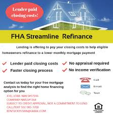 Fha Upfront Mip Refund Chart 2019 Streamline Kentucky Fha Mortgage Loans Guidelines