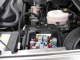 chevrolet silverado gmt800 1999 2006 fuse box diagram chevroletforum engine bay fuse box