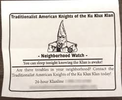 kkk imperial wizard neighborhood watch underway in fairview kkk imperial wizard neighborhood watch underway in fairview township com