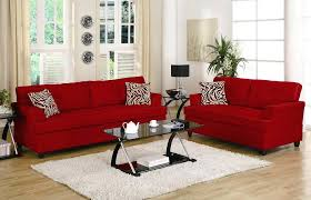 Interesting Red And Black Living Room Set Living Room Red Sofa And