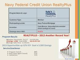 Navy Federal Realty Plus Cash Back Chart Certified Agent Advantage Ppt Download