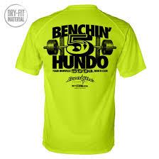 Bench T Shirt Design 500 Pound Bench Press Club Dri Fit T Shirt Powerlifting