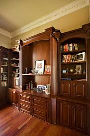 custom office design. Bay Area Executive Home Office Design With Mahogany Custom Cabinets Traditional-home-office O