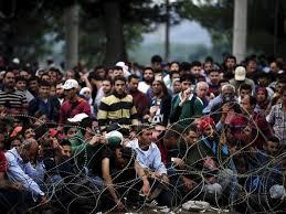 Resultado de imagem para migrantes sírios
