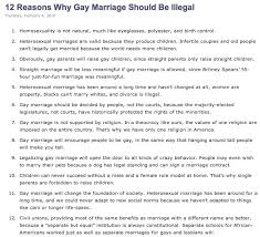 reasons against gay marriage