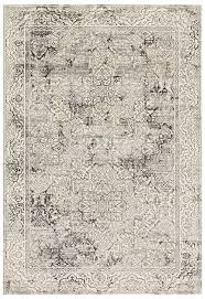 white modern rug. modern ivory and gray faded persian rug white