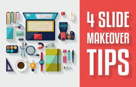 Presentation Slide Design Tips Before After 4 Slide Makeover Tips