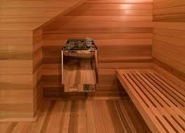 Sauna room design