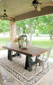 diy pallet outdoor dinning table. build your own outdoor dining table a pottery barn knock off diy pallet dinning