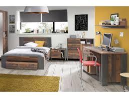 Jugendzimmer Cedric 64 Vintage Braun 5 Teilig Schlafzimmer Bett Nako