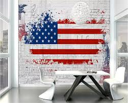 Kopen Goedkoop Beibehang Custom Behang Retro Amerikaanse Vlag