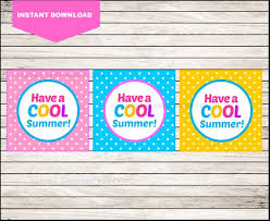 Summer Gift Tags Printable End Of School Cards Have A Cool Summer Funny Gift Tags Printable Summer Gift Tag Cards Instant Download