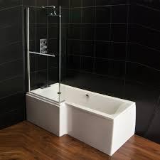 Genesis Vermont L Shaped Shower Bath Screen Front Panel