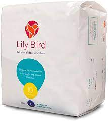 Amazon.com: Lily Bird Incontinence Underwear for Women, Maximum Absorbency,  30 Count (3 Packs of 10) (Large): Health & Personal Care
