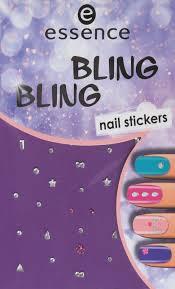 <b>Наклейки для ногтей</b> Essence <b>Bling bling nail</b> stickers, №01, 5 г ...