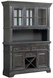 China Cabinet With Hutch Standard Furniture Garrison Traditionally Styled China Cabinet