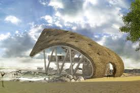 liong lie architects dar es salaam yacht club exterior beach entrance