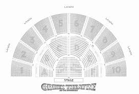 Tower Theater Seating Chart Veritable Greek Theater Seats Microsoft Theater Seating