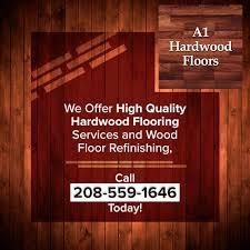 a1 hardwoods contact sidebar