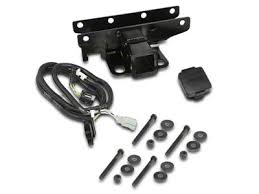 rugged ridge jeep wrangler 2 in receiver hitch kit w wiring rugged ridge jeep wrangler 2 in receiver hitch kit w wiring harness jeep logo hitch plug 11580 52 07 18 jeep wrangler jk
