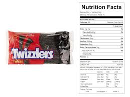 Vending Machine Nutrition Facts Extraordinary Twizzlers Halloween Candy Calories Hallowen Costum Udaf