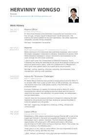 Finance Resume Best Finance Officer Resume Samples VisualCV Resume Samples Database